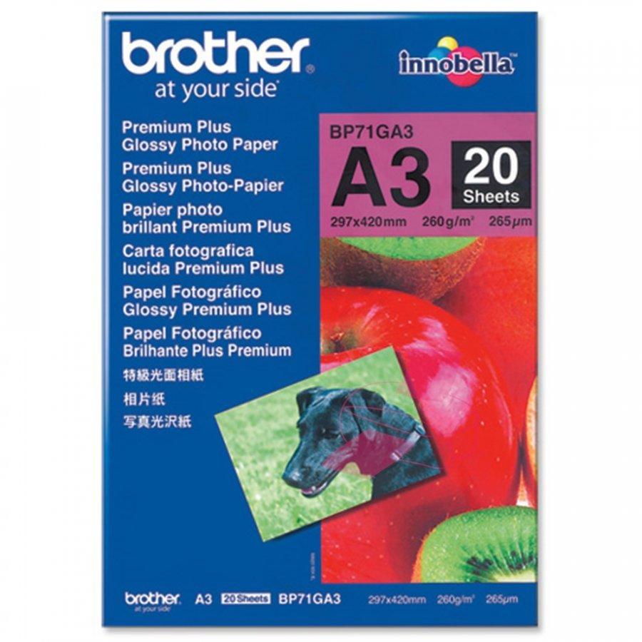 Brother BP71GA3 Valokuvapaperi A3