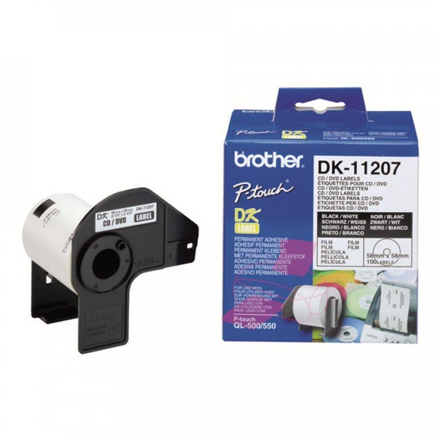Brother DK11207 Cd/Dvd Tarrat