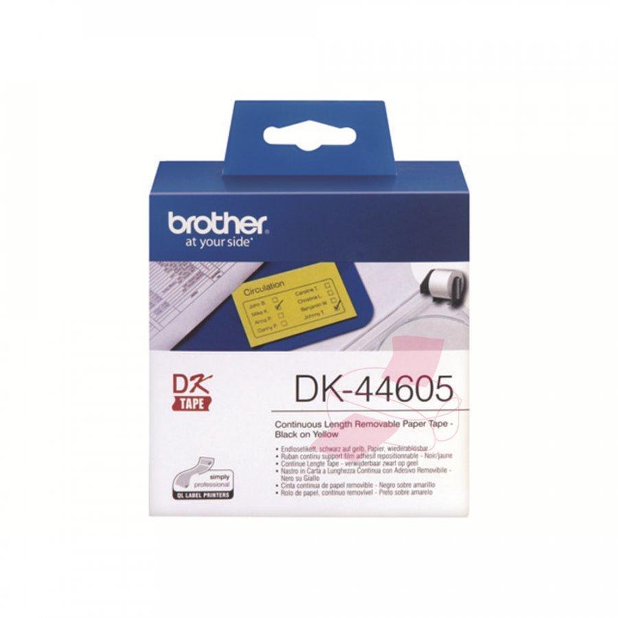 Brother DK44605 Irrotettavat Tarralipukkeet