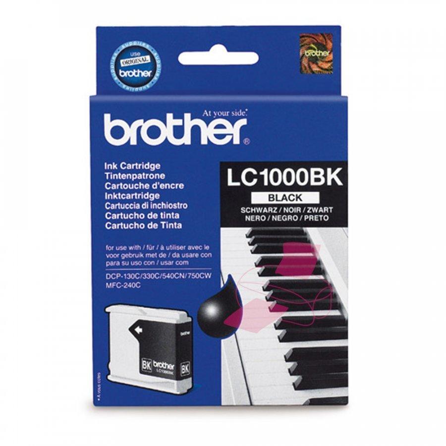 Brother LC1000BK Musta Mustepatruuna