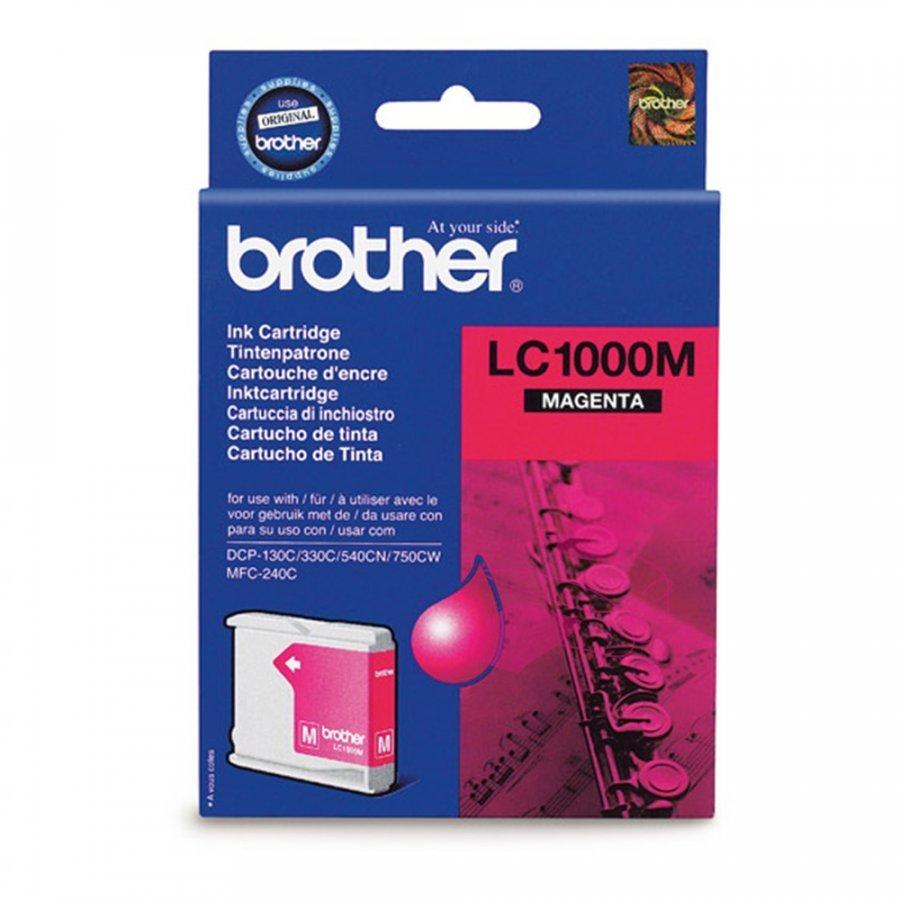 Brother LC1000M Magenta Mustepatruuna