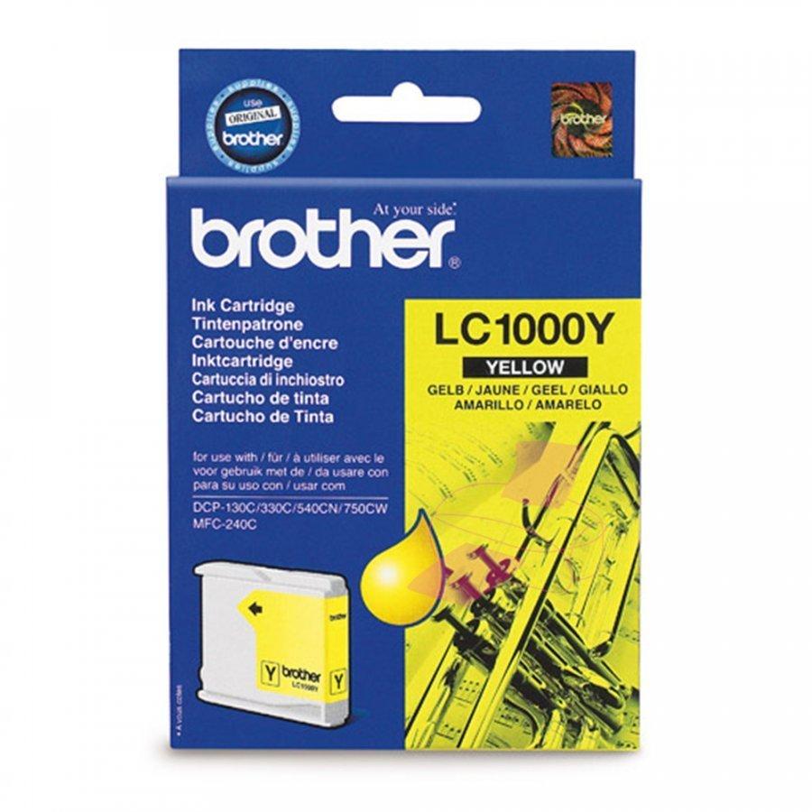 Brother LC1000Y Keltainen Mustepatruuna