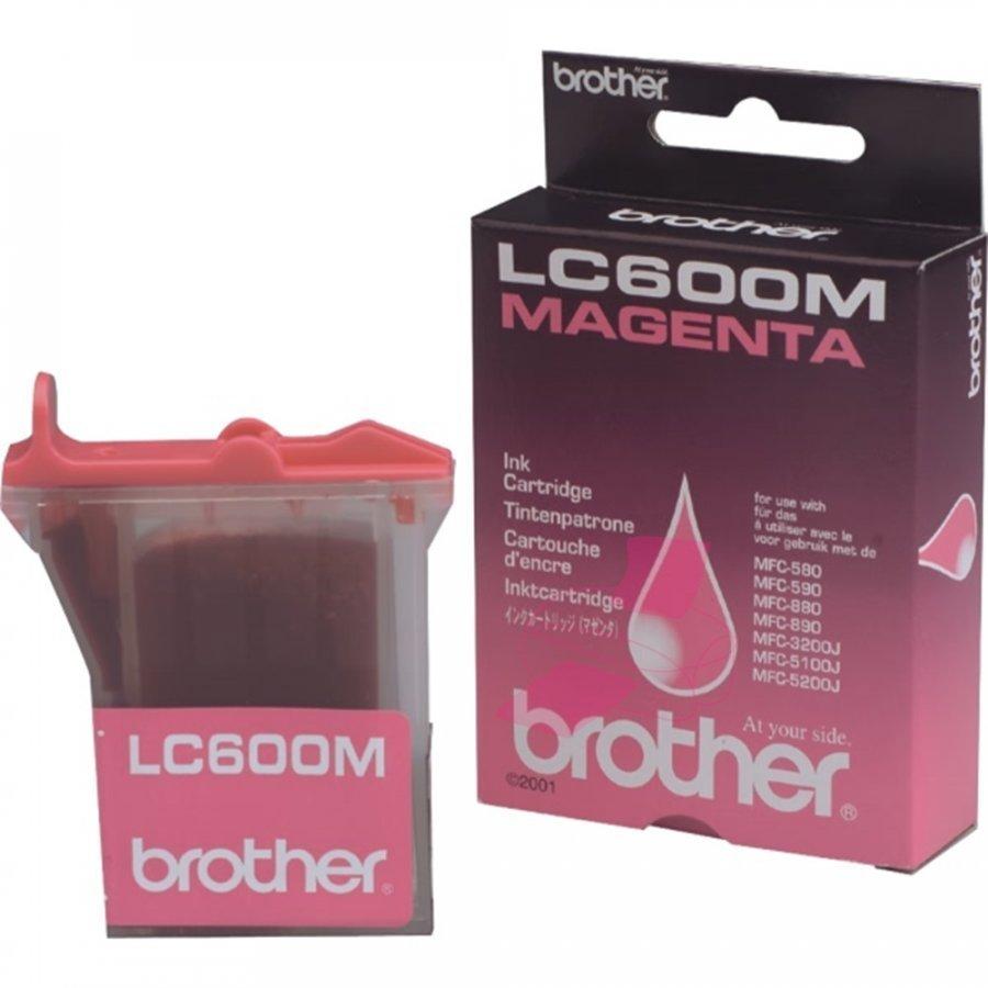 Brother LC600M Magenta Mustepatruuna