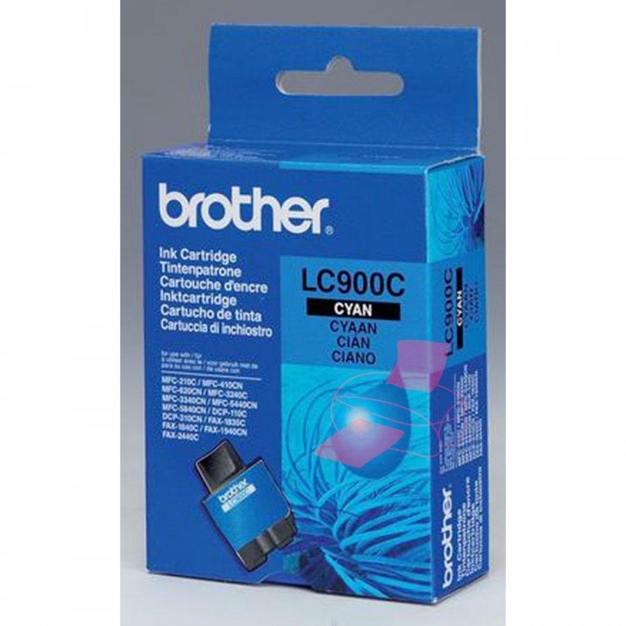 Brother LC900C Cyan Mustepatruuna