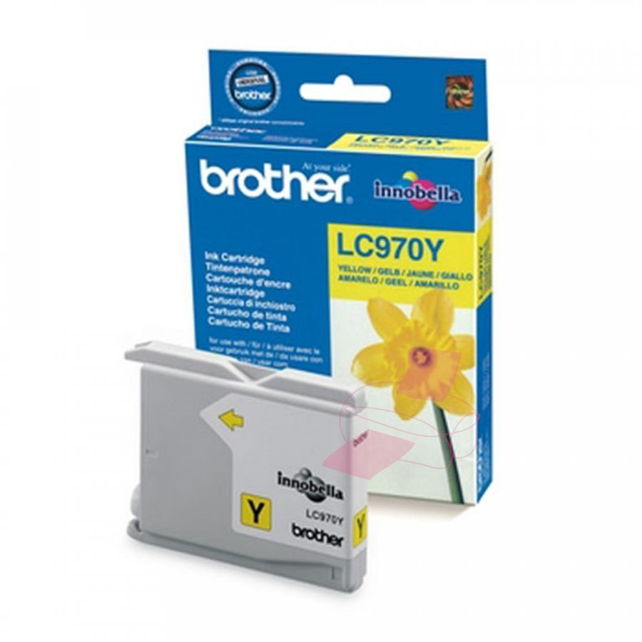 Brother LC970Y Keltainen Mustepatruuna