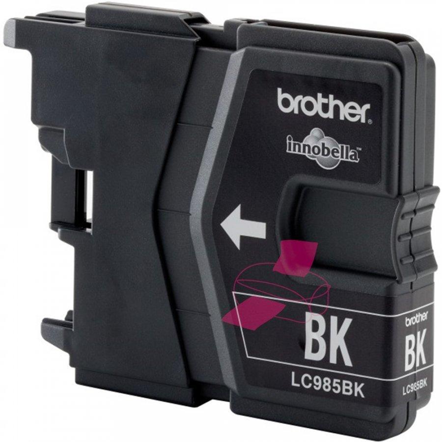 Brother LC985BK Musta Mustepatruuna