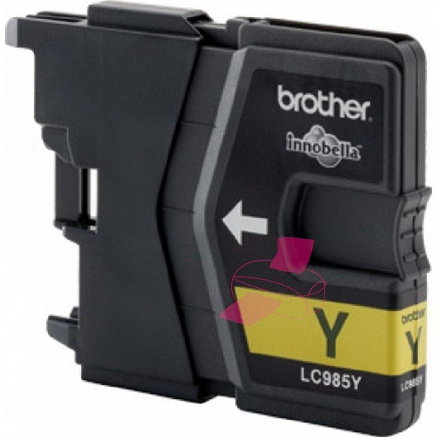 Brother LC985Y Keltainen Mustepatruuna