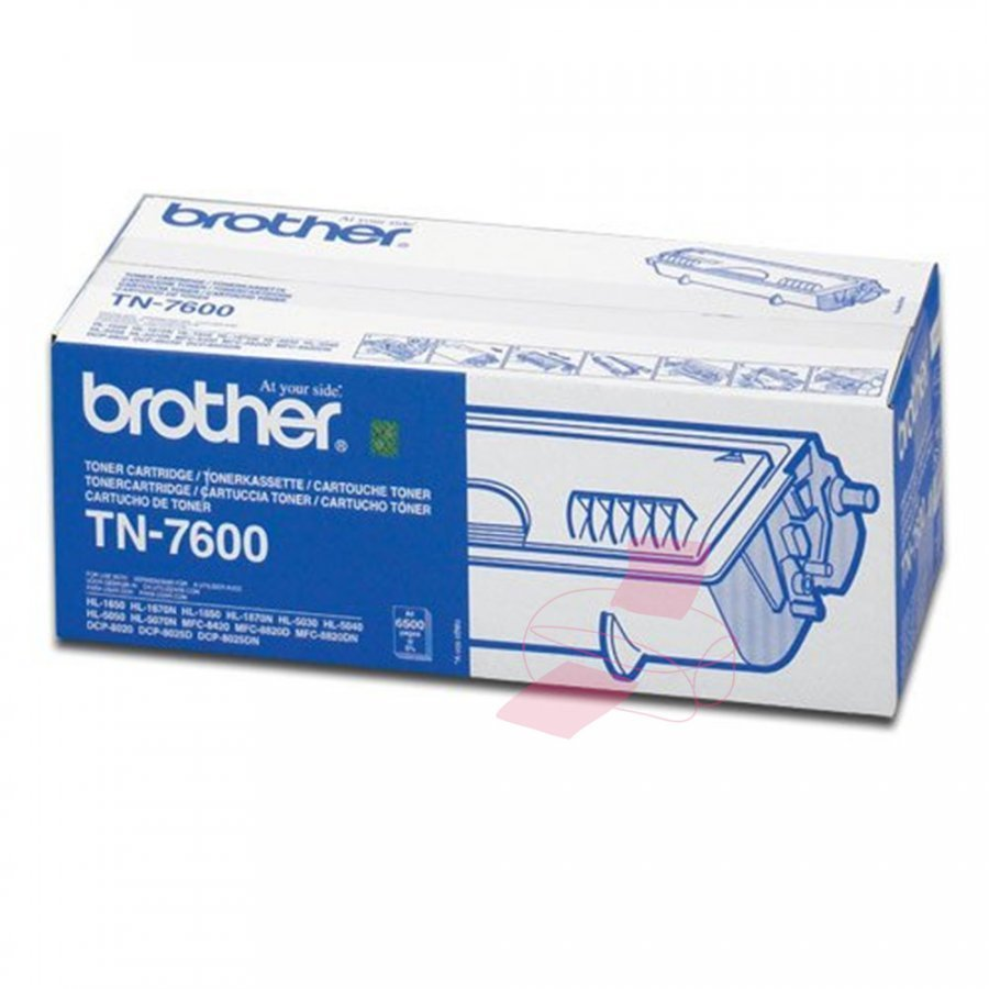 Brother TN7600 Musta Värikasetti