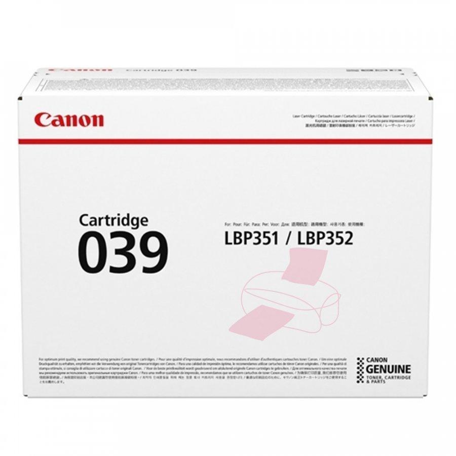 Canon 0287C001 Musta Värikasetti