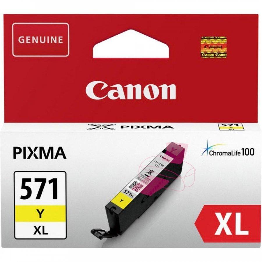 Canon 0334C001 Keltainen Mustepatruuna