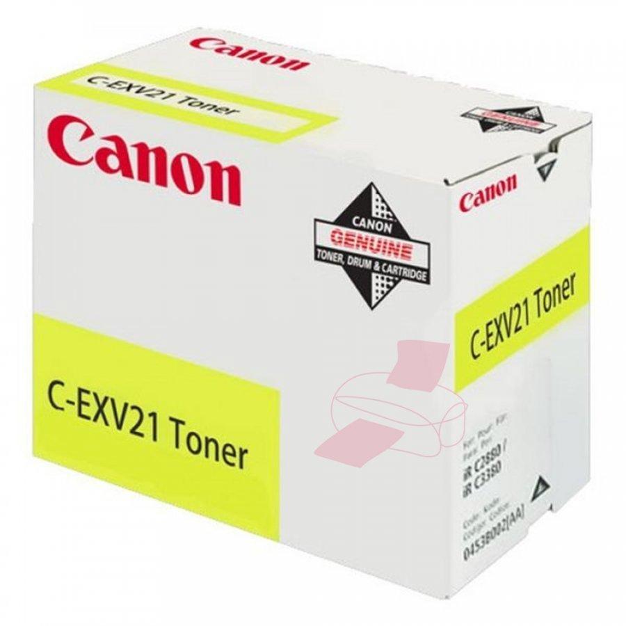 Canon 0455B002 Keltainen Värikasetti
