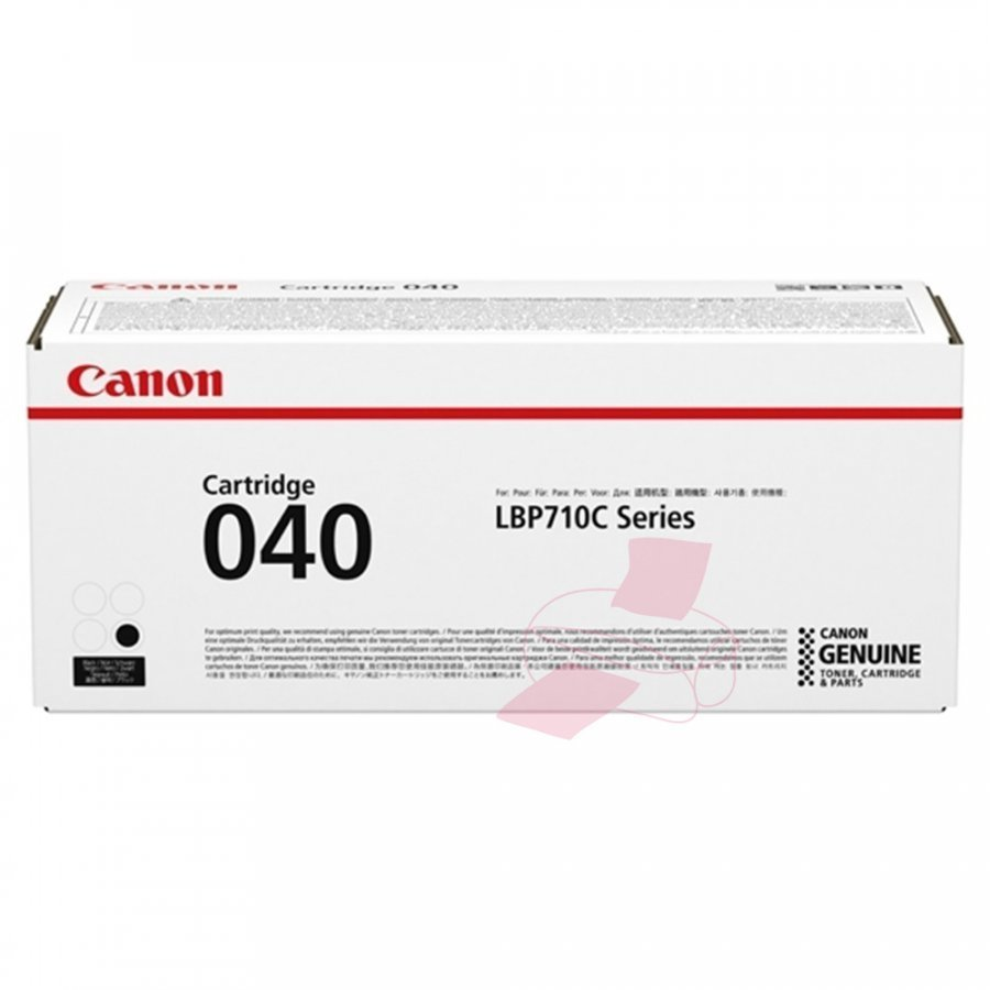 Canon 0460C001 Musta Värikasetti