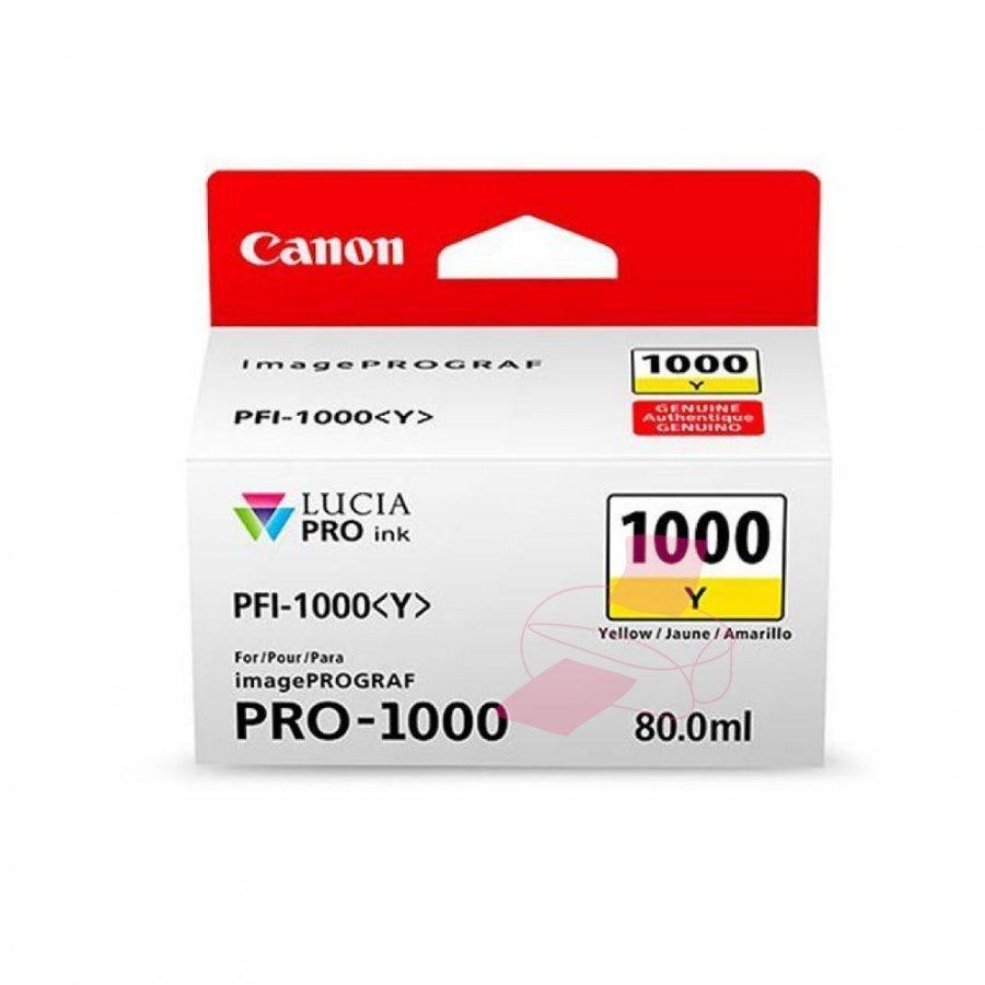 Canon 0549C001 Keltainen Mustepatruuna