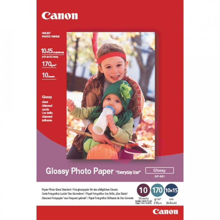 Canon 0775B003 Valokuvapaperi 10-Kuva