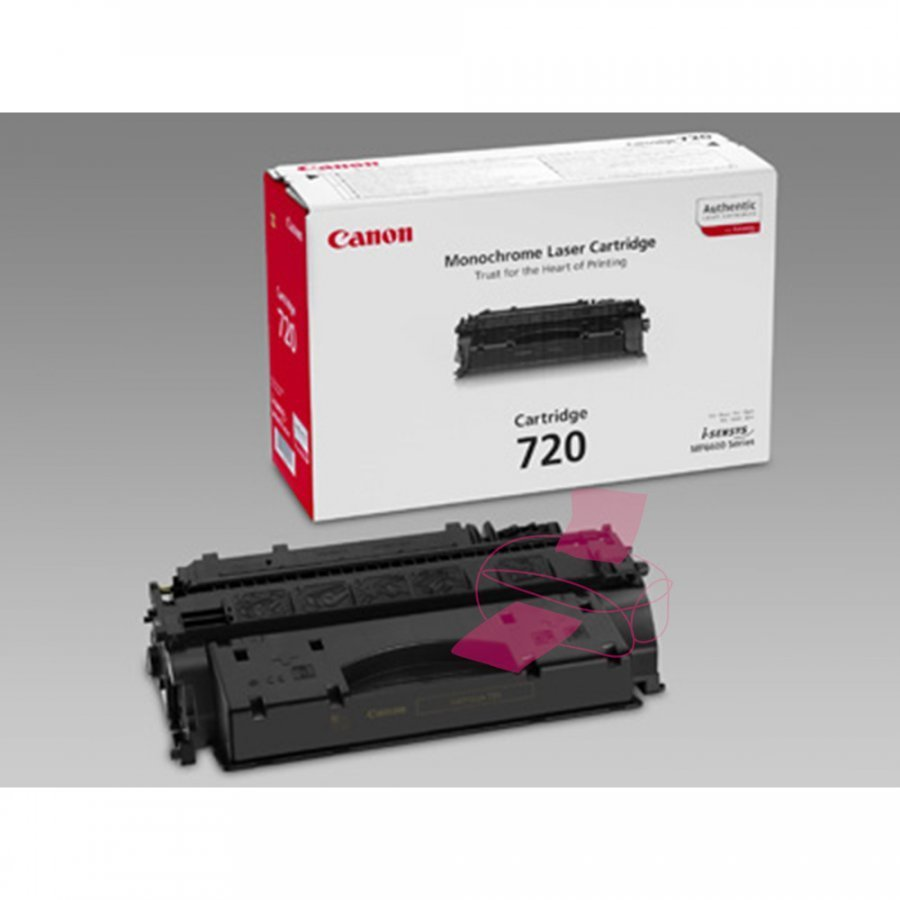 Canon 2617B002 Musta Värikasetti