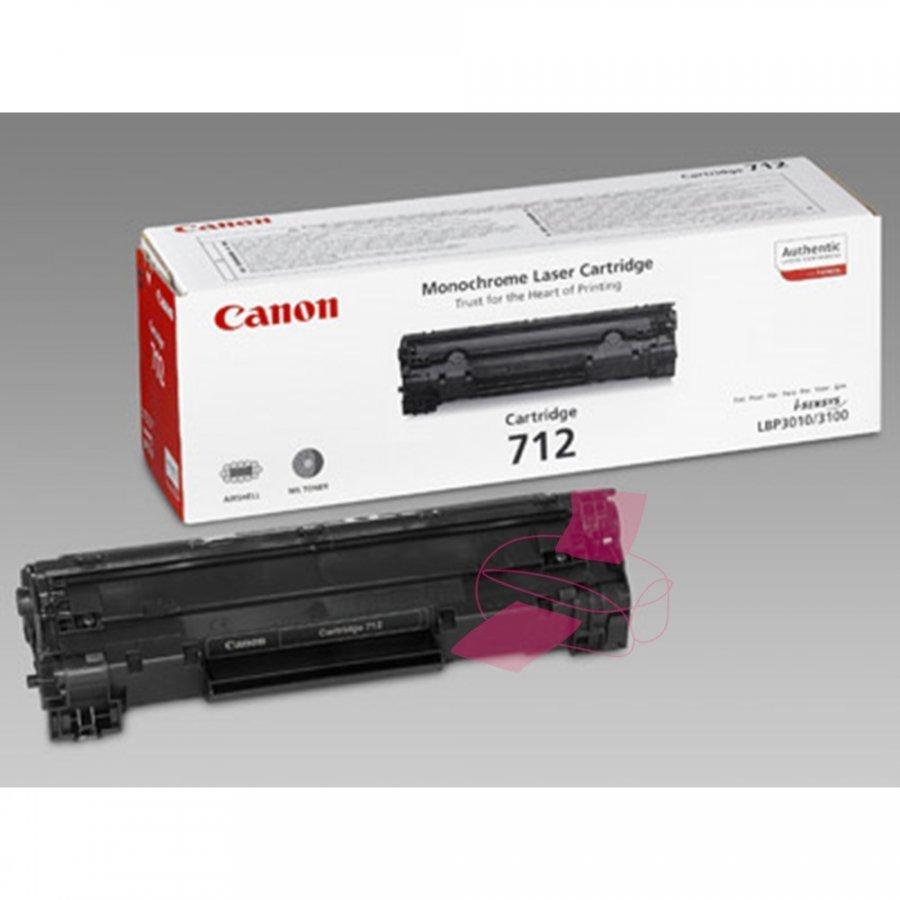 Canon 712 Musta Värikasetti