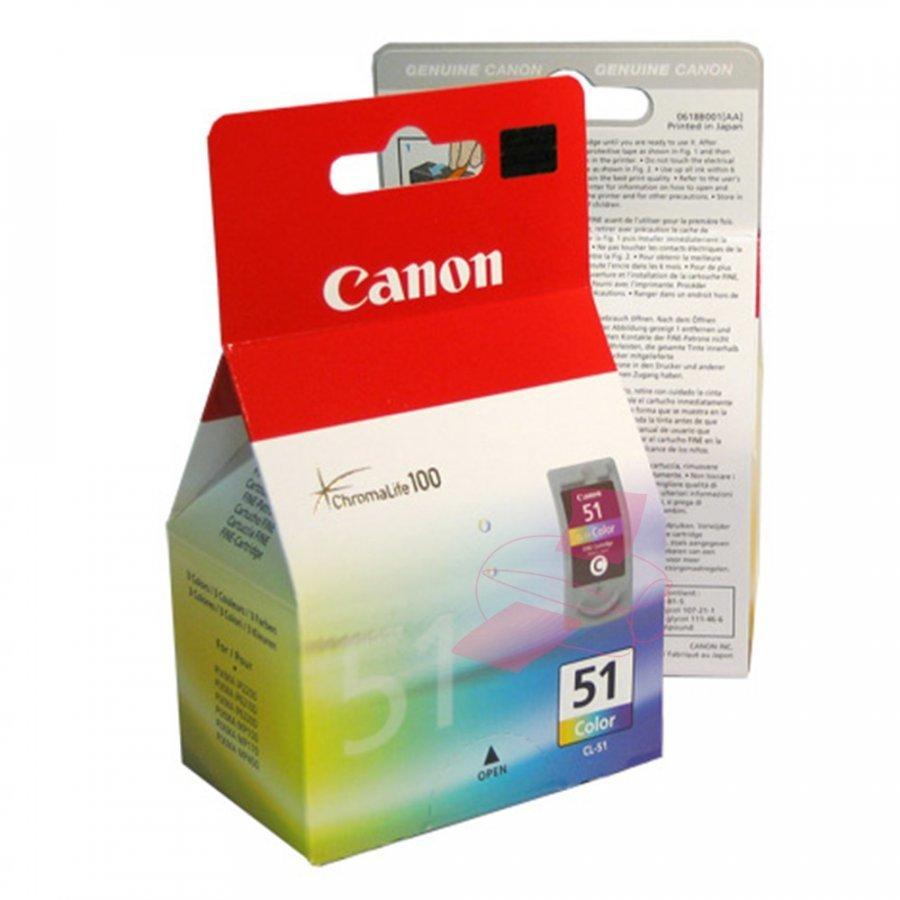 Canon CL51 Kolmevärinen Mustepatruuna