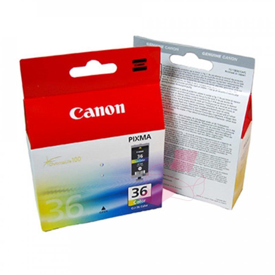 Canon CLI36 Neljä Väriä Mustepatruuna