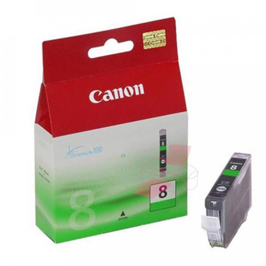 Canon CLI8G Vihreä Mustepatruuna