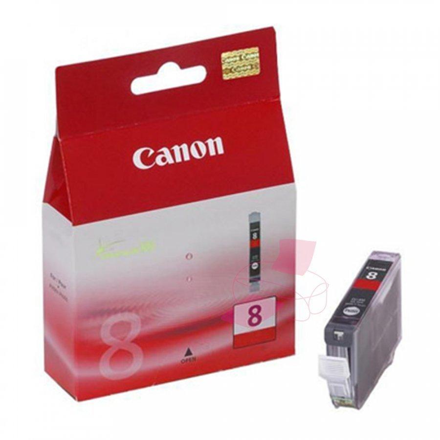 Canon CLI8R Punainen Mustepatruuna