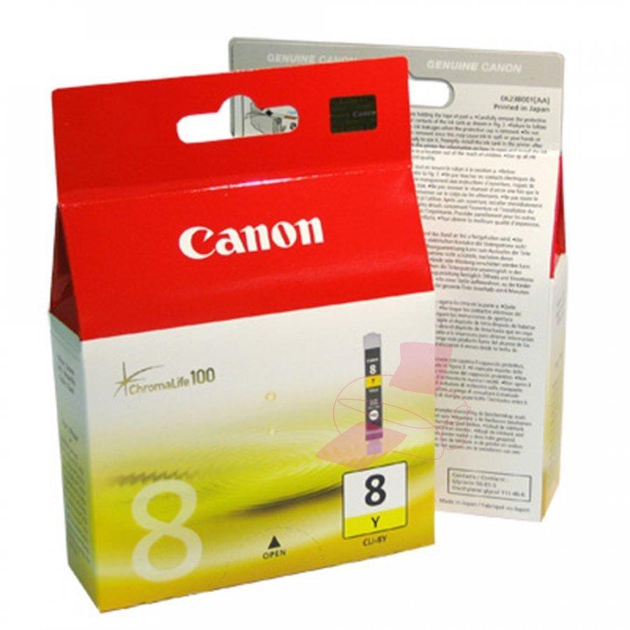 Canon CLI8Y Keltainen Mustepatruuna