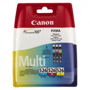 Canon Cli-526 C/M/Y Mustekasetti