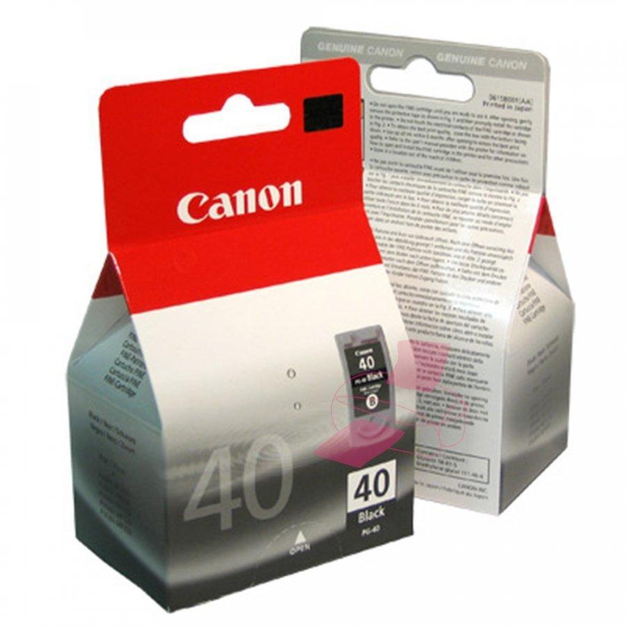 Canon PG40 Musta Mustepatruuna