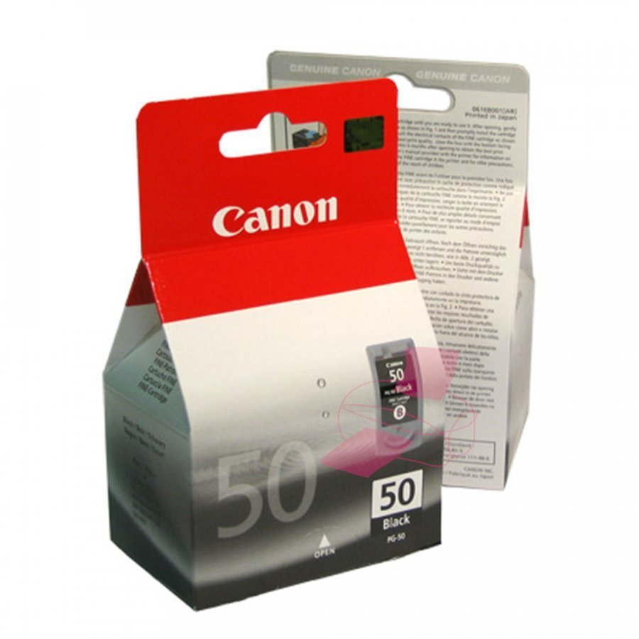 Canon PG50 Musta Mustepatruuna