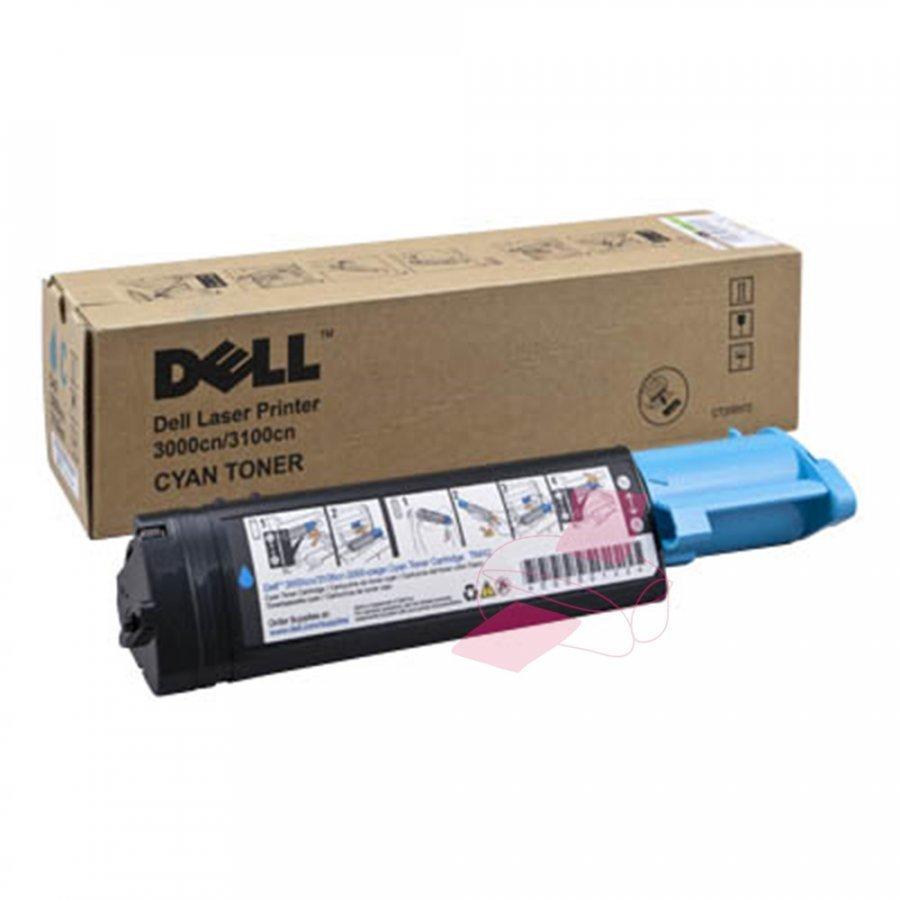 Dell 593-10064 Cyan Värikasetti