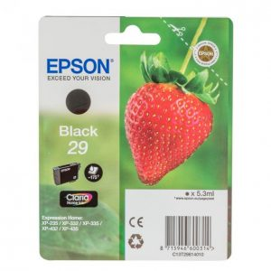 Epson 29 Musta Mustekasetti