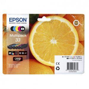 Epson 33 Musta Mustekasetti