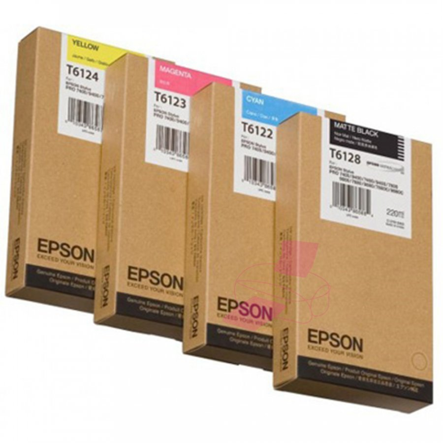 Epson C13T6122 Cyan Mustepatruuna
