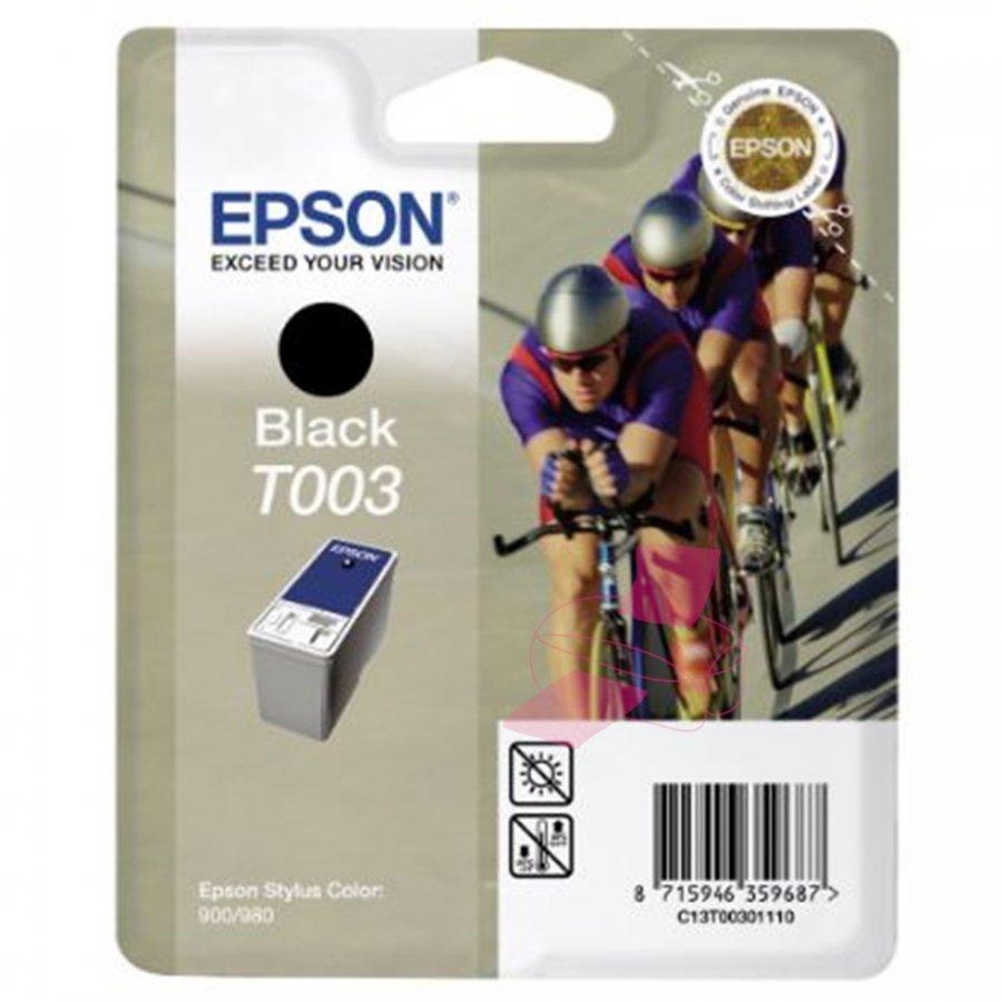 Epson T003 Musta Mustepatruuna