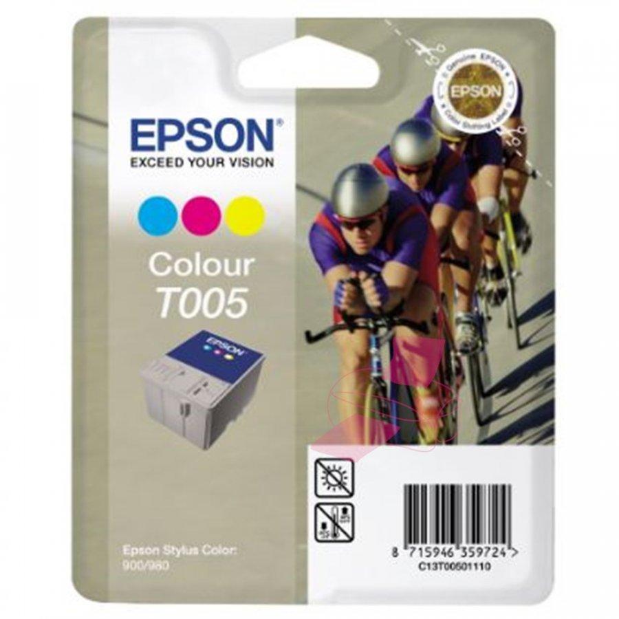 Epson T005 Kolmevärinen Mustepatruuna