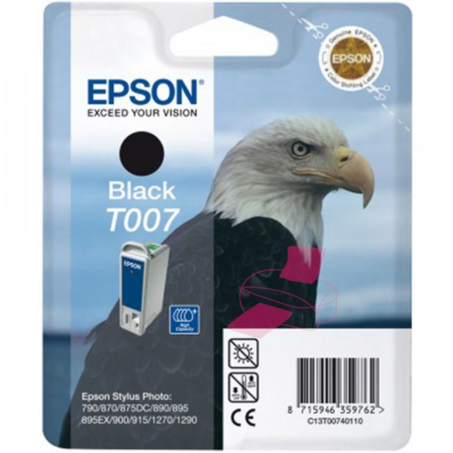 Epson T007401 Musta Mustepatruuna