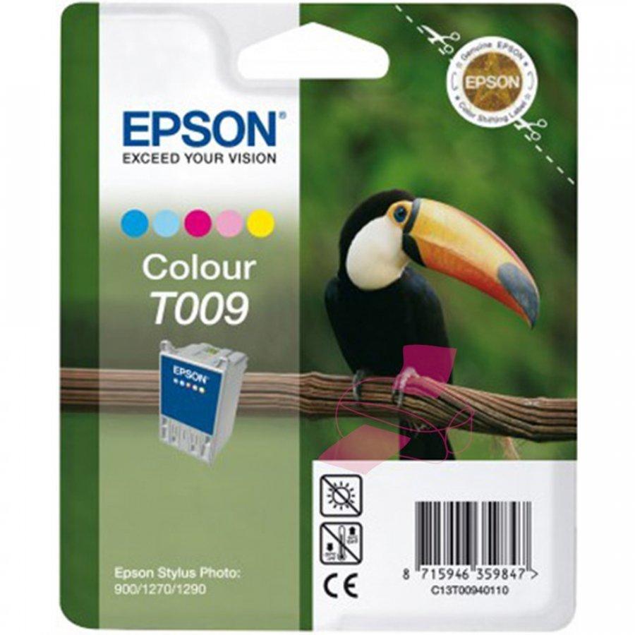 Epson T009401 Viisivärinen Mustepatruuna