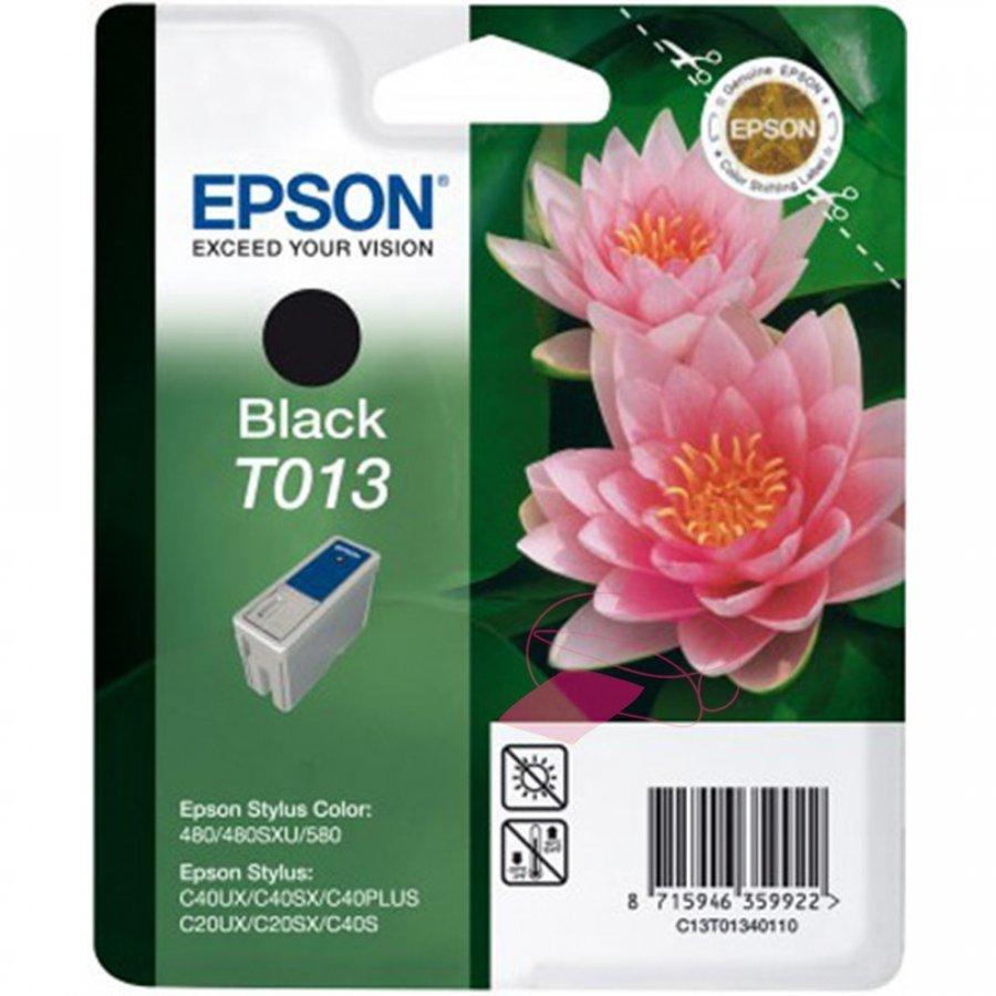 Epson T013 Musta Mustepatruuna