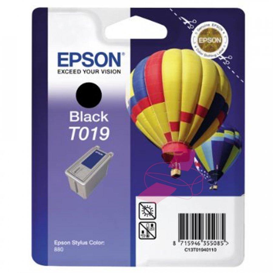 Epson T019 Musta Mustepatruuna