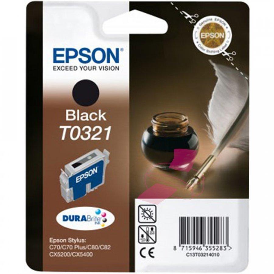 Epson T0321 Musta Mustepatruuna