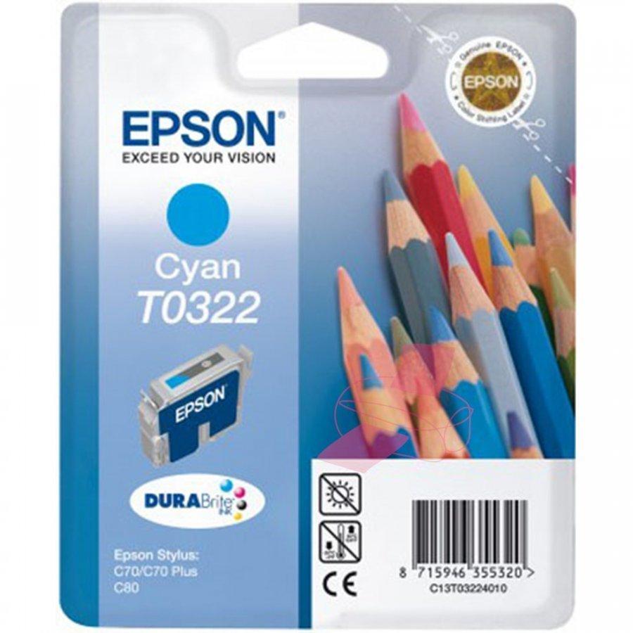 Epson T0322 Cyan Mustepatruuna