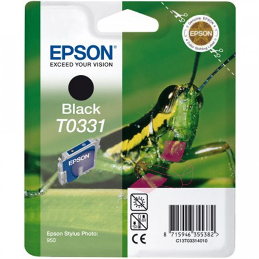 Epson T0331 Musta Mustepatruuna
