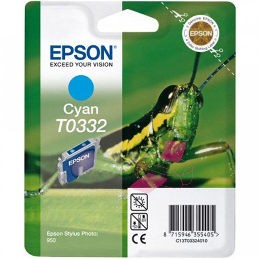 Epson T0332 Cyan Mustepatruuna