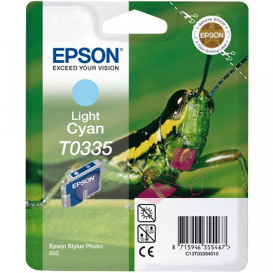 Epson T0335 Light Cyan Mustepatruuna
