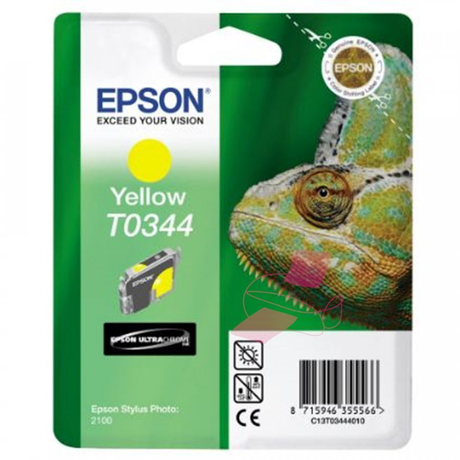 Epson T0344 Keltainen Mustepatruuna