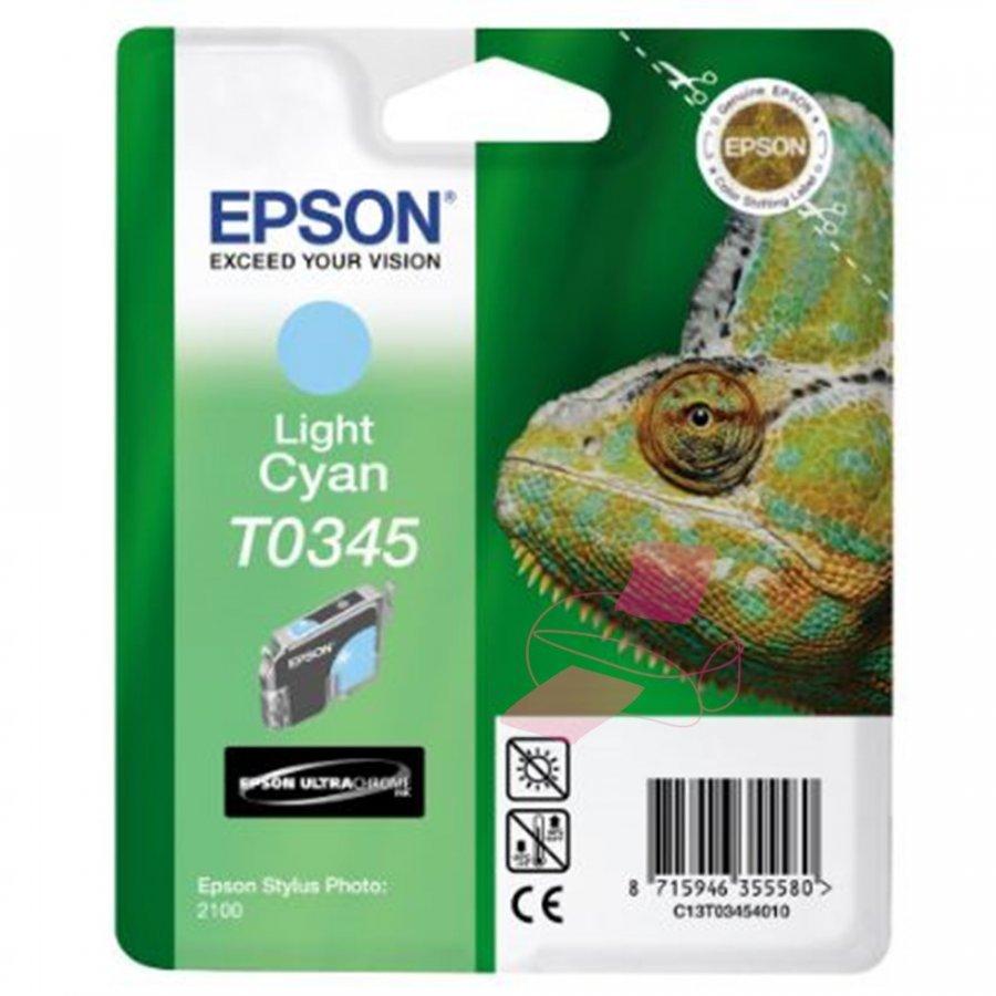 Epson T0345 Light Cyan Mustepatruuna