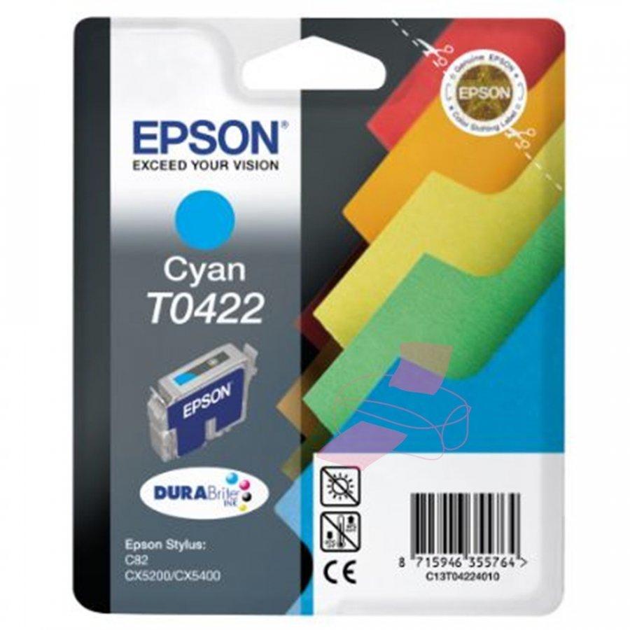 Epson T0422 Cyan Mustepatruuna