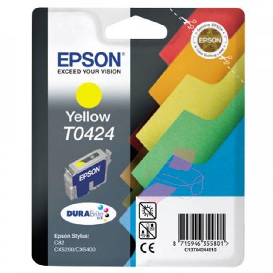 Epson T0424 Keltainen Mustepatruuna