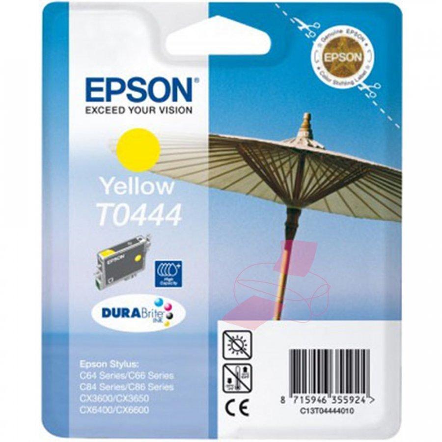 Epson T0444 Keltainen Mustepatruuna