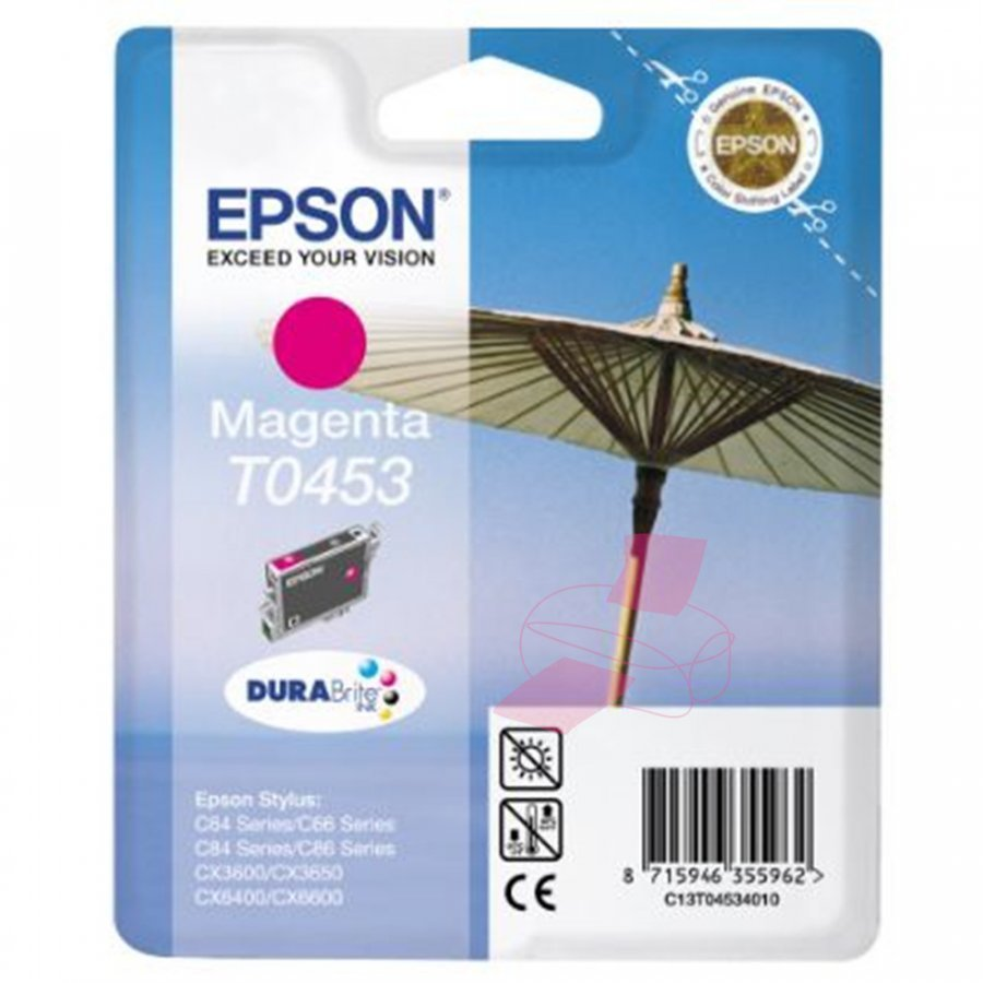 Epson T0453 Magenta Mustepatruuna
