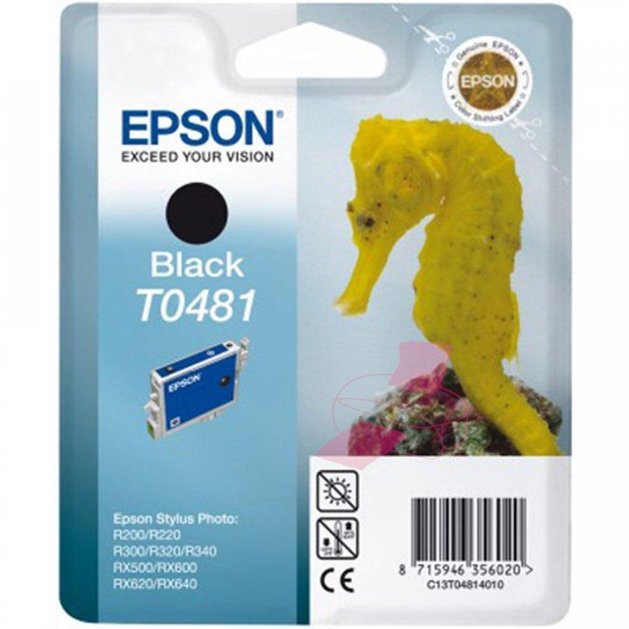 Epson T0481 Musta Mustepatruuna